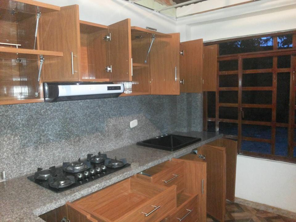 Cocinas integrales espacios y acabados pvc colombia - Instalacion de cocinas integrales ...